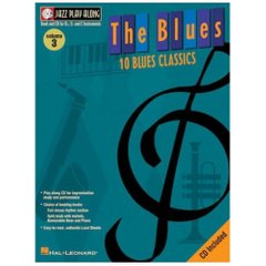 The Blues Jazz Play-Along Volume 3 Hal Leonard 841646 Ноты фото 1