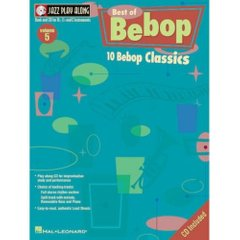 Best of Bebop Jazz Play-Along Volume 5 Hal Leonard 841689 Ноты фото 1