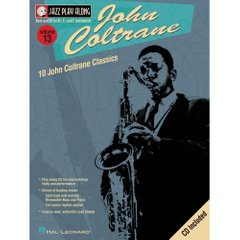 John Coltrane Jazz Play-Along Volume 13 Hal Leonard 843006 Ноты фото 1