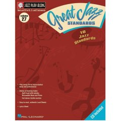 Great Jazz Standards Jazz Play-Along Volume 27 Hal Leonard 843020 Ноты фото 1
