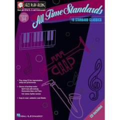 All Time Standards Jazz Play-Along Volume 34 Hal Leonard 843030 Ноты фото 1