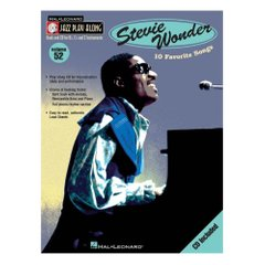 Stevie Wonder Jazz Play Along Volume 52 Hal Leonard 843048 Ноты фото 1